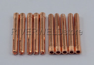 "10N23M 5/64"" 2.0mm TIG Collets Fit DB PTA SR WP17 18 26 TIG Welding Torch, 10PK"