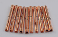 "10N25 1/8"" 3.2mm TIG Collets Fit DB PTA SR WP17 18 26 TIG Welding Torch, 10PK"