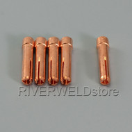 "10N24S Stubby Collet 3/32"" 2.4mm Fit TIG Welding Torch WP PTA DB SR 17 18 26 5PK"