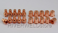 C1402 Plasma Electrode and C1396 Nozzle Fit CEBORA P70 CP-70 CB70 Torch 20pcs