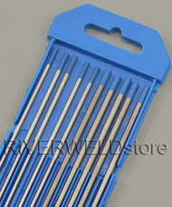 """2% Lanthanated Sky Blue TIG Tungsten Electrode Assorted Size 3/32""""(5pcs) and 1/8""""(5pcs)"""