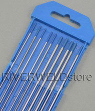 """2% Lanthanated Sky Blue TIG Tungsten Electrode Assorted Size 1/16""""(5pcs) and 3/32""""(5pcs)"""