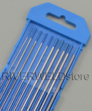 """2% Lanthanated WL20 TIG Tungsten Electrode Assorted Size 0.040""""-1/16""""-3/32""""-1/8"""",10pcs"""