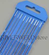 "0.8% Zirconiated TIG Welding Tungsten Electrode Assorted Size 040""(5pcs) & 1/16""(5pcs)"