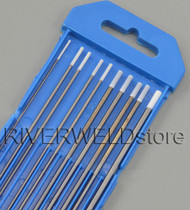 "0.8% Zirconiated WZ8 TIG Tungsten Electrode Assorted Size 0.040"",1/16"",3/32"",1/8"",10pcs"