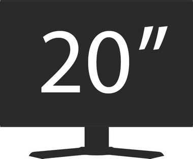 "Generic 20"" LCD Monitor Grade A"