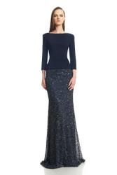 Theia Resort 2016 Crunchy Sequin Skirt
