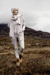 Barbara Lohmann Knitwear Vest, Pullover, Scarf, Bonnet: Fall 2016