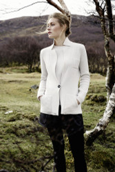 Barbara Lohmann Knitwear Blazer and Pullover: Fall 2016