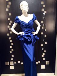 Catherine Regehr Two-Piece Taffeta Gown