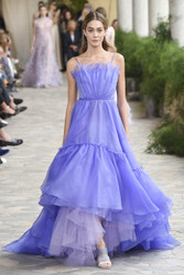 Luisa Beccaria Organza Ball Gown
