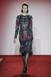 Naeem Khan Fall 2017 Ready To Wear Look 12