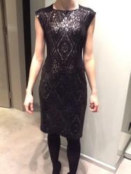 Georges Rech Sequin Jersey Dress