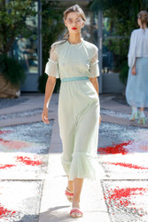 Luisa Beccaria Spring 2018 Ready To Wear Look 16
