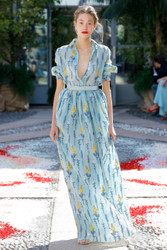 Luisa Beccaria Spring 2018 Ready To Wear Look 15
