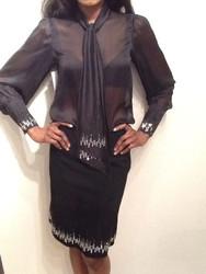 Ivarson Crystal Emb Skirt