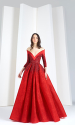 Tony Ward Fall / Winter 2018 Ready To Wear Look 1