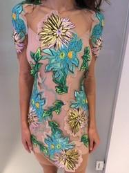 Blumarine Floral Pattern Dress