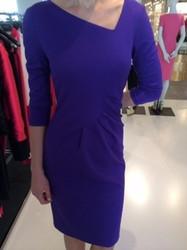 Escada Deep Blue Knee-Length Dress