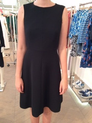 Tara Jarmon Black Sleeveless Dress