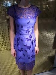 Escada Blue Floral Dress