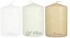 "3""x 4 "" Wholesale Pillar Candles Bulk - Set of 12 per Case"