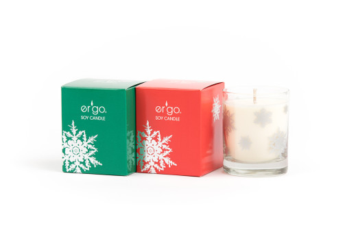 7oz Frankincense & Myrrh( Green Box )  - Snow Flake Collection