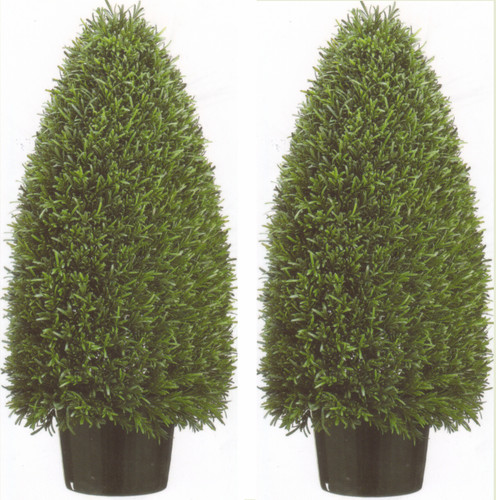 artificial cone topiary | rosemary bush | artificial topiary plants Artificial Shrubs and Plants