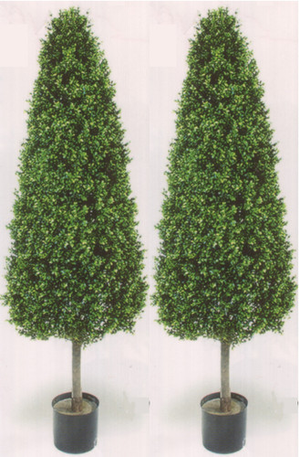 artificial boxwood cone topiary trees   fake cone topiary trees Fake Topiary Trees