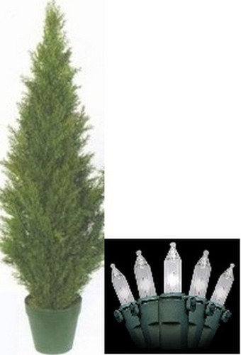 image 1 - Outdoor Artificial Christmas Tree