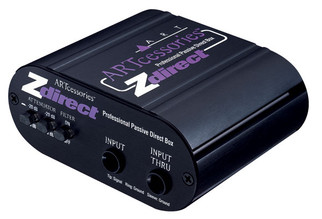 ART - Z Direct Single Channel Passive DI Box