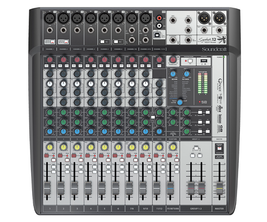 SOUNDCRAFT SIGNATURE 12MTK MULTI-TRACK 12 INPUT CONSOLE WITH MULTICHANNEL USB