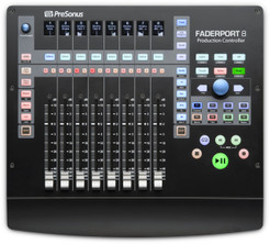 Presonus - Faderport 8  -  NEW PRODUCT  - Includes a Free Pair of Presonus HD7 Studio Headphones Value $79.99!