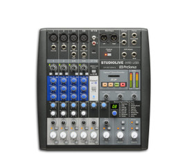 StudioLive® AR8 8-channel hybrid performance and recording mixer