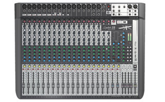SOUNDCRAFT SIGNATURE 22 MTK MULTI-TRACK 12 INPUT CONSOLE WITH MULTICHANNEL USB