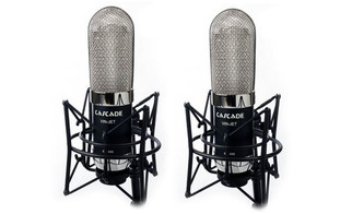 Matched Pair Cascade - VIN-JET Long Ribbon Microphones