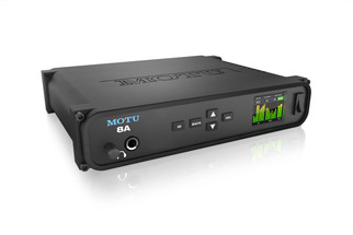 MOTU 8A - ThunderboltTM/USB3/AVB Ethernet audio interface with DSP and mixing
