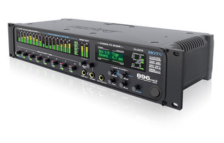 MOTU 896mk3 FireWire/USB2 audio interface 8 mic/guitar inputs with on-board effects and mixing, 192kHz