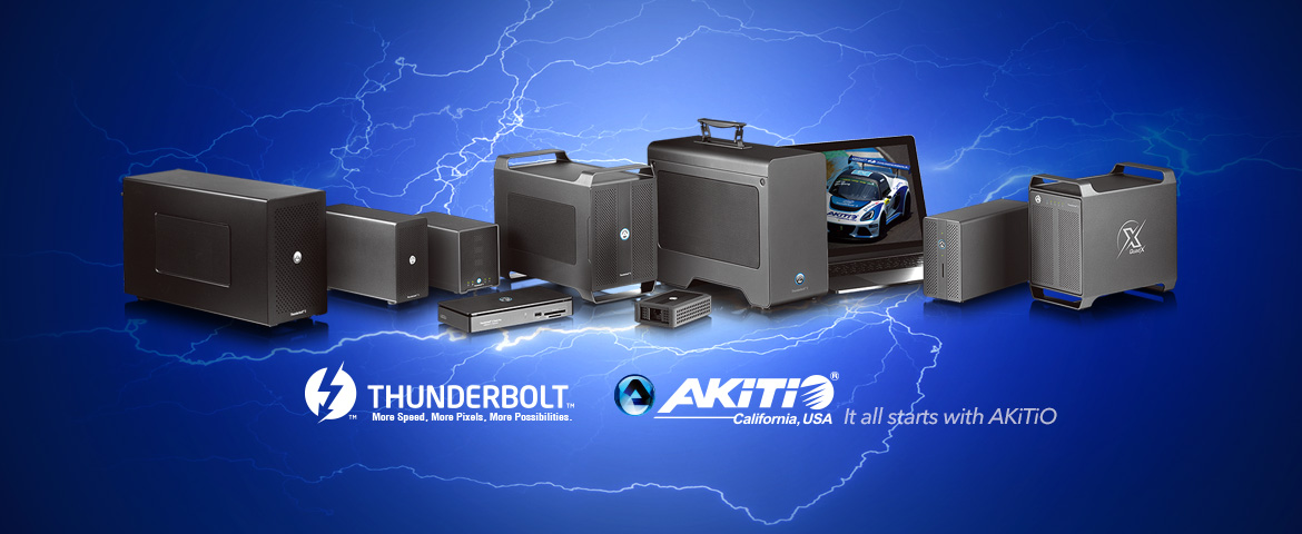 Akitio Thunderbolt enclosure
