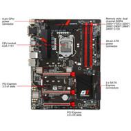 Gigabyte GA-Z170X-Gaming 3 Intel Z170 Chipset ATX Motherboard