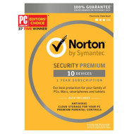 Norton 21363450 Security Premium - 10 Devices Key Card