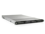 iStarUsa 1U 4-Bay Storage Server Rackmount Chassis with 280W Redundant Power Supply