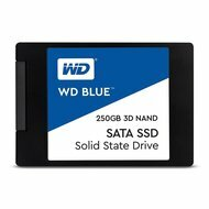 "Western Digital Blue WDS250G2B0A 250 GB 2.5"" Internal Solid State Drive"