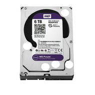 Western Digital WD60PURX WD Purple 6TB Surveillance Hard Disk Drive - 5400 RPM Class SATA 6 Gb/s 64MB Cache 3.5 Inch