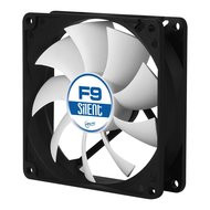 Arctic Cooling ACFAN00026A F9 Silent 90 mm 3-Pin Fan with Standard Case and Higher Airflow