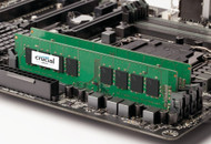 Crucial CT8G4DFS824A 8GB Single DDR4 2400 MT/s (PC4-19200) SR x8 DIMM 288-Pin Memory