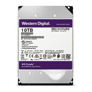 """Western Digital WD101PURZ Purple 10TB Surveillance 7200RPM Class SATA 6 Gb/s 256MB Cache 3.5"""" Internal Hard Drive"""