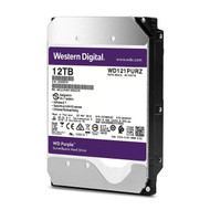 "Western Digital WD121PURZ WD12TB Surveillance 7200RPM 3.5"" SATA 6 Gb/s 256MB Internal Hard Drives"
