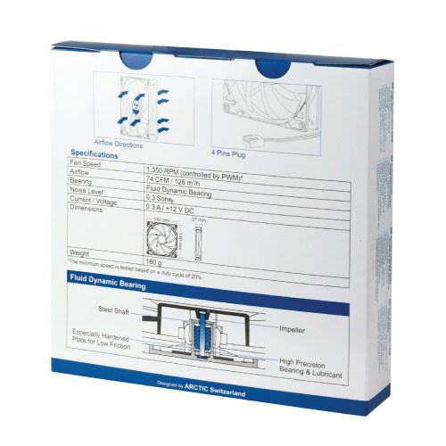 Arctic ACFAN00078A F14 PWM Rev 2 4-Pin PWM Standard Case Fan