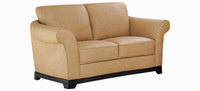 Jaymar Naples Loveseat is available in high quality leather, fabric, or microfiber.
